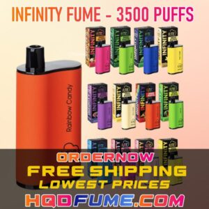 FUME INFINITY DISPOSABLE 3500 PUFFS ALL FLAVORS